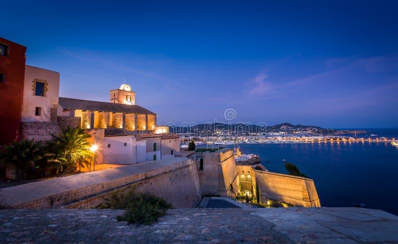 Fortaleza de Ibiza fotos de stock