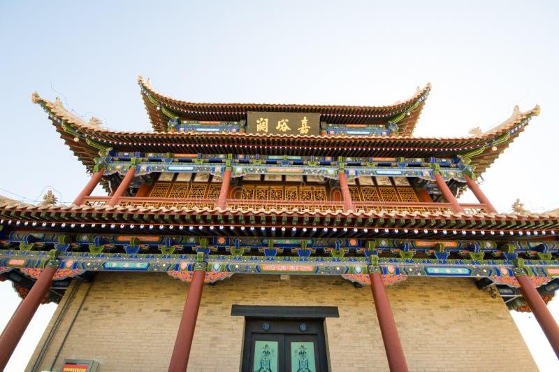 Fortaleza de Jiayuguan fotos de archivo libres de regalías