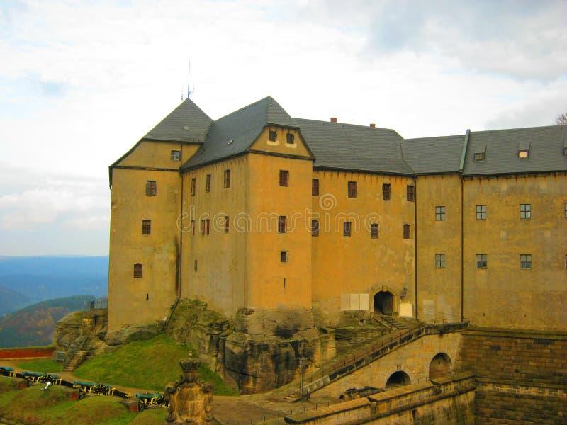Fortaleza de Königstein imagen de archivo