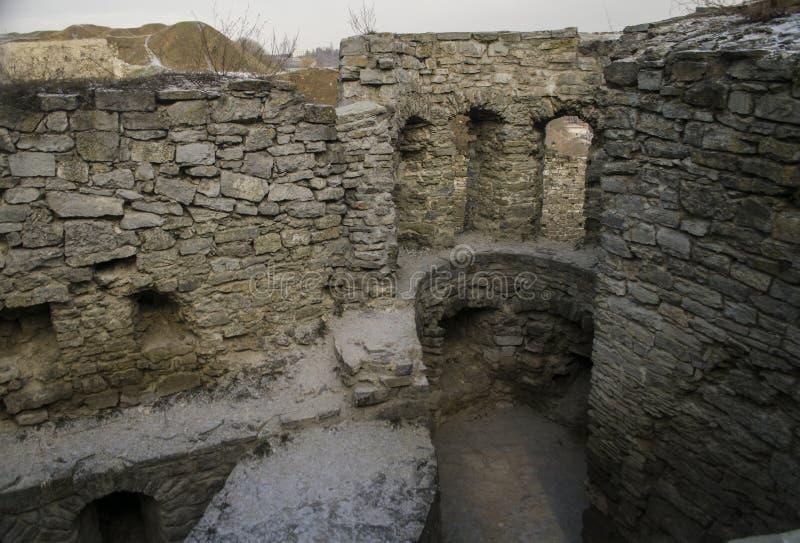 Fortaleza de Kamenetz-Podolsk, Ucrania imágenes de archivo libres de regalías