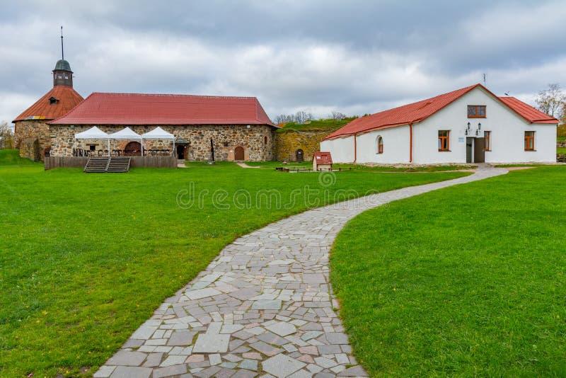 Fortaleza de Korela Kexholm da fortaleza foto de stock royalty free