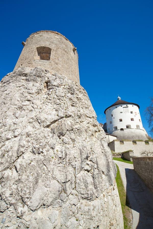 Fortaleza de Kufstein imagen de archivo libre de regalías