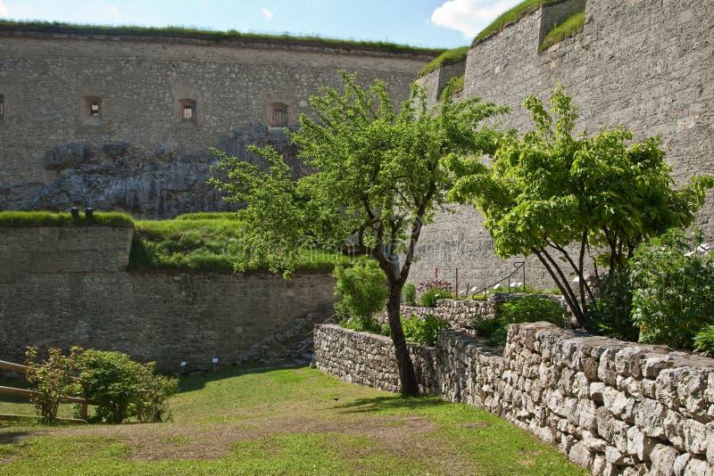 Fortaleza de Kufstein fotos de archivo libres de regalías