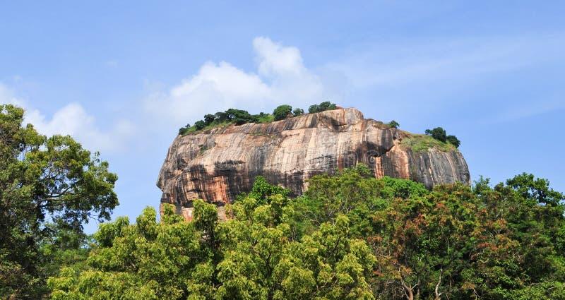 Fortaleza de la roca de Sigiriya en Sri Lanka imágenes de archivo libres de regalías