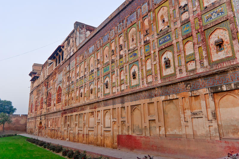 Fortaleza de Lahore foto de archivo libre de regalías