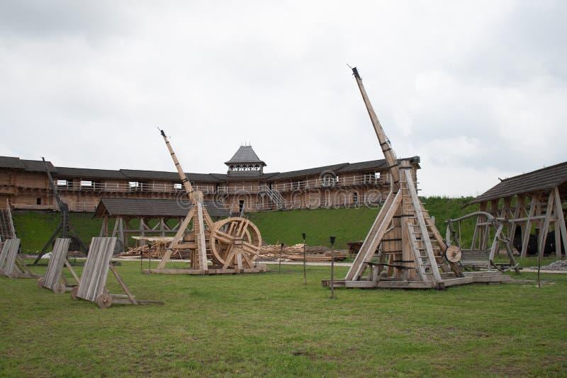 Fortaleza de madeira foto de stock royalty free