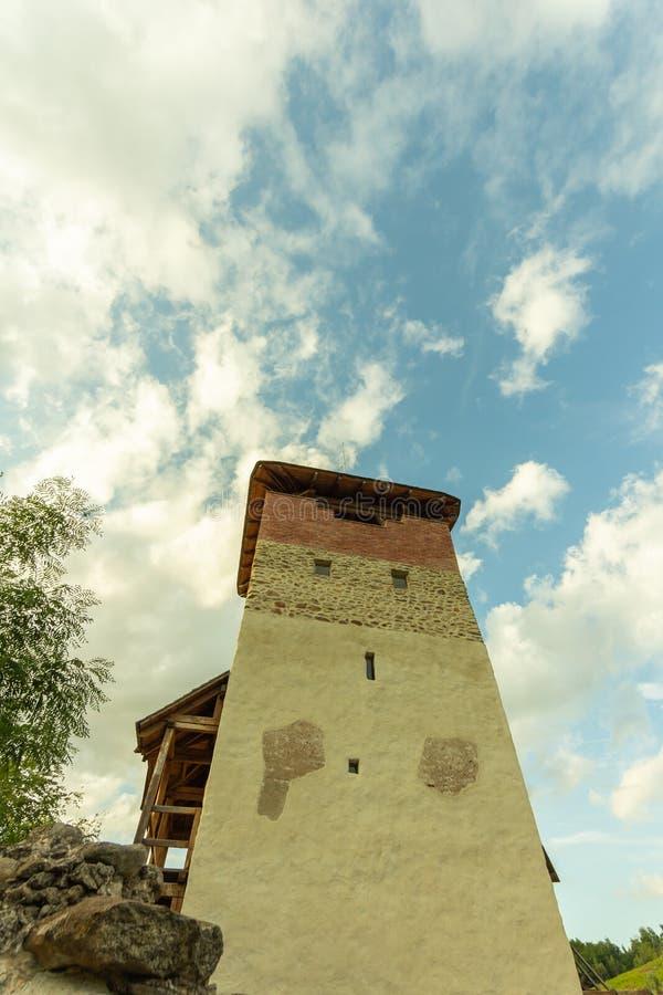 Fortaleza de Malaiesti fotografia de stock