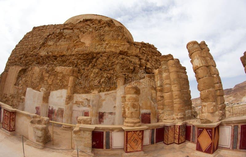 Fortaleza de Masada imagem de stock royalty free