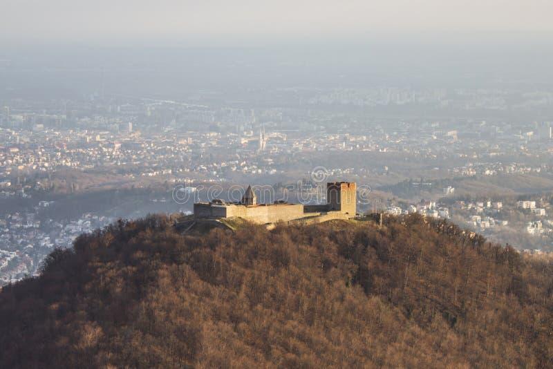 A fortaleza de Medvedgrad fotos de stock