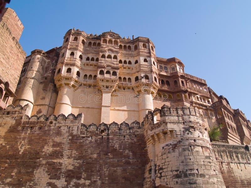 Fortaleza de Mehrangarh, Jodhpur imagen de archivo