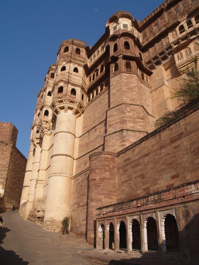 Fortaleza de Mehrangarh, Jodhpur imágenes de archivo libres de regalías