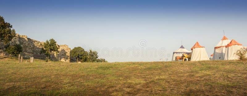 Fortaleza de Mezek fotografía de archivo