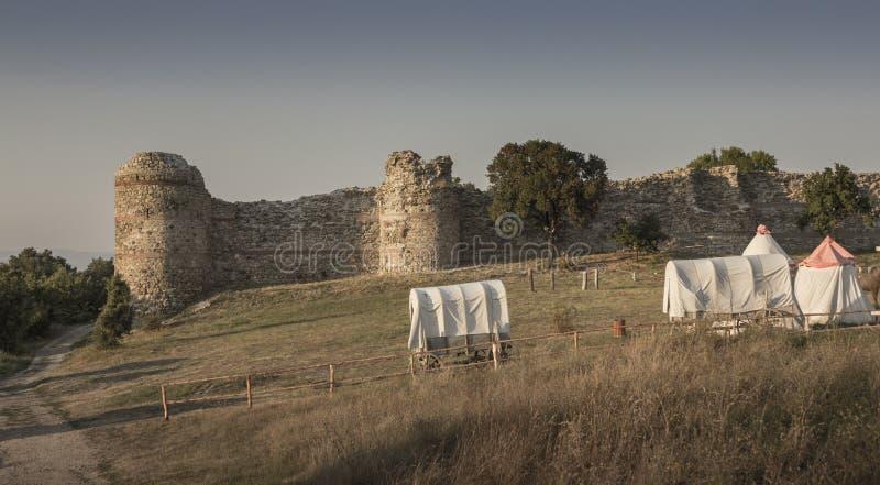 Fortaleza de Mezek foto de archivo libre de regalías