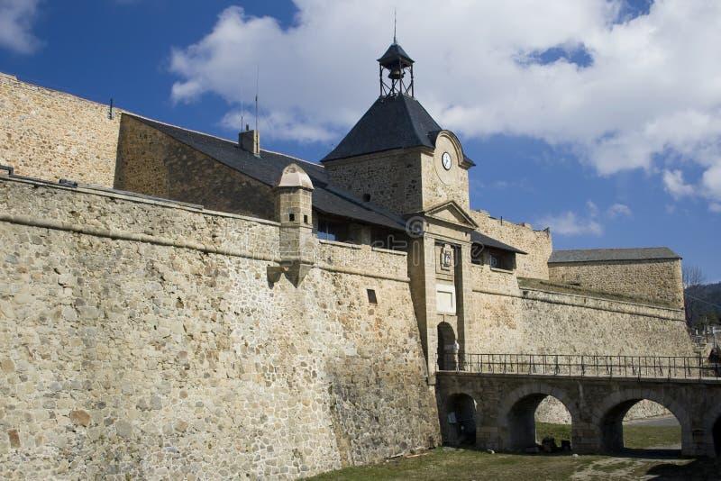 Fortaleza de Mont-Louis imagen de archivo libre de regalías