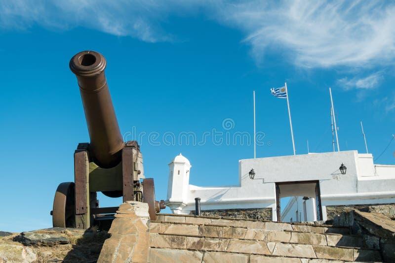 Fortaleza de Montevideo imagens de stock