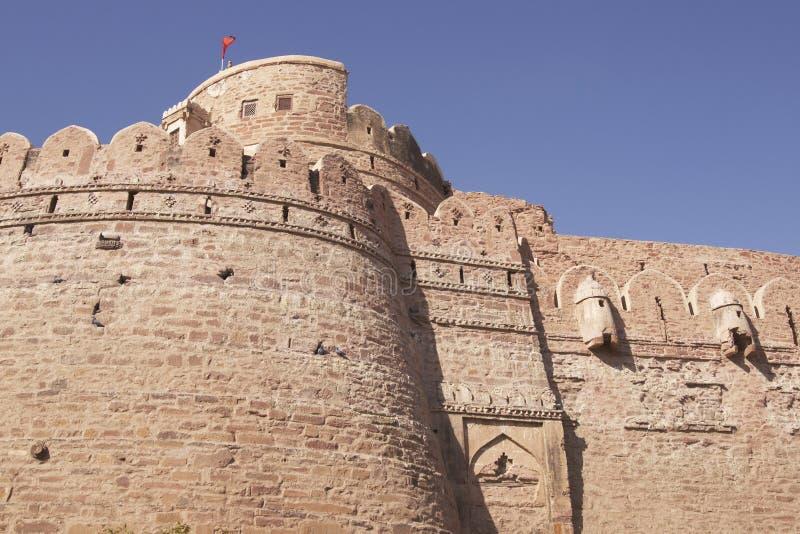 Fortaleza de Nagaur imagenes de archivo