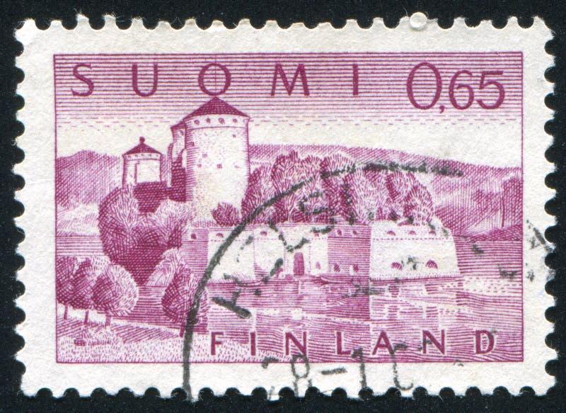 Fortaleza de Olavinlinna imagem de stock royalty free