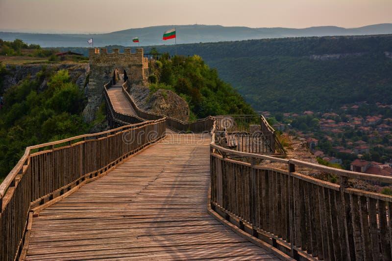 Fortaleza de Ovech, Provadia, Bulgaria imágenes de archivo libres de regalías