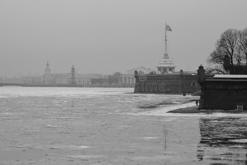 Fortaleza de Peter e de Paul, St Petersburg imagens de stock royalty free