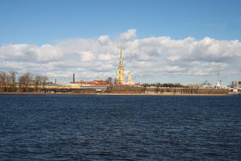 Fortaleza de Peter e de Paul, St Petersburg, Rússia foto de stock royalty free