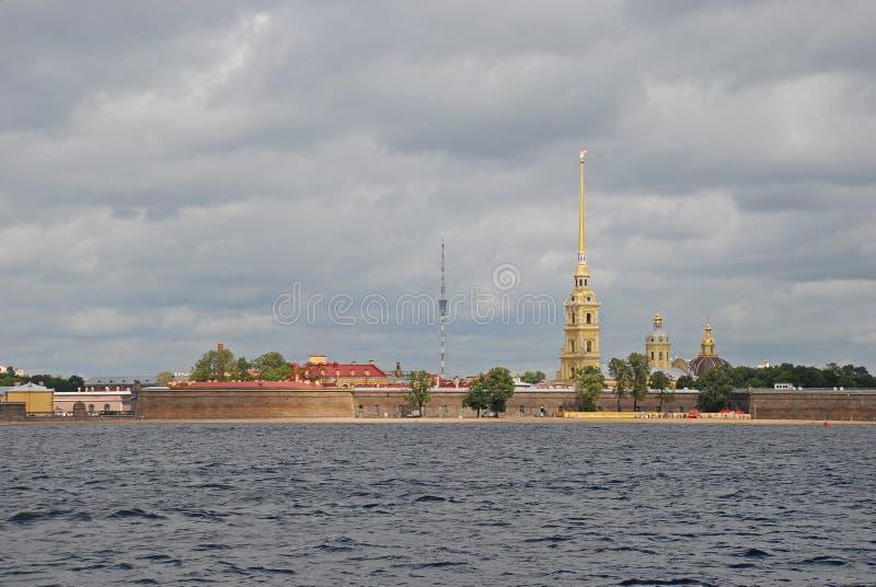Fortaleza de Peter e de Paul, St Petersburg, Rússia imagem de stock royalty free