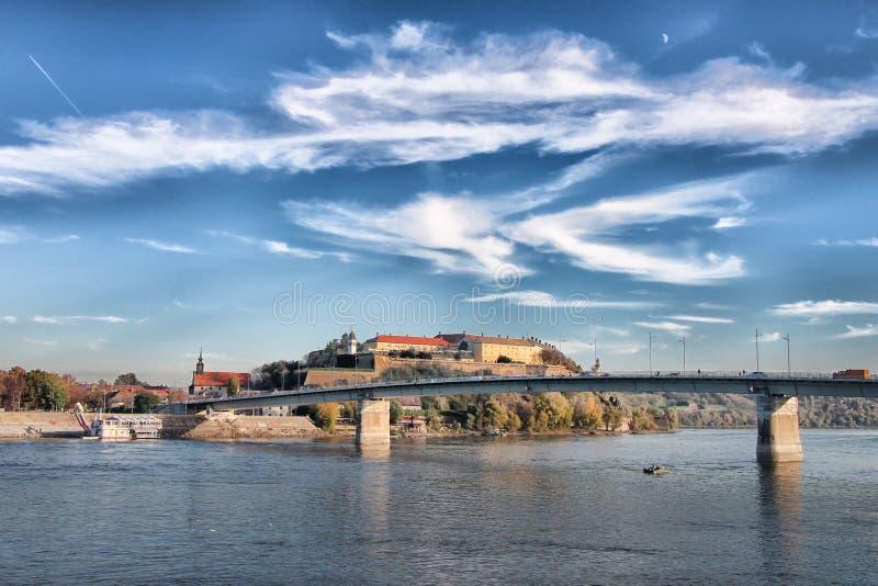 Fortaleza de Petrovaradin en Novi Sad imágenes de archivo libres de regalías