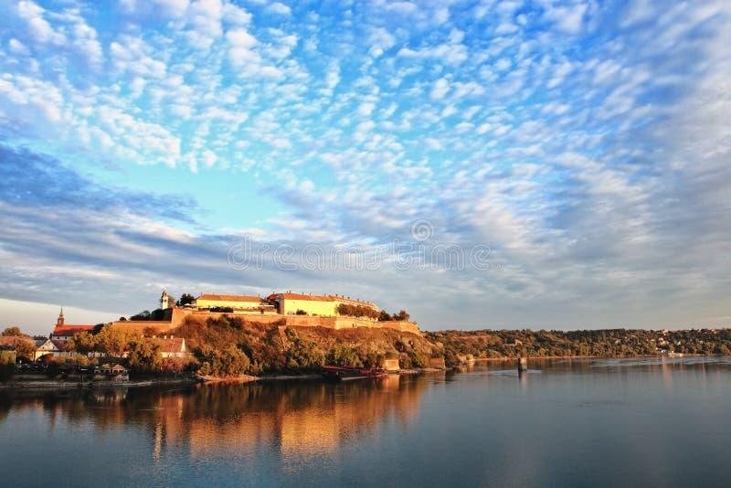 Fortaleza de Petrovaradin, Novi triste foto de stock royalty free