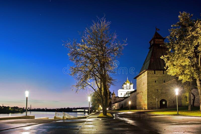 Fortaleza de Pskov fotos de archivo