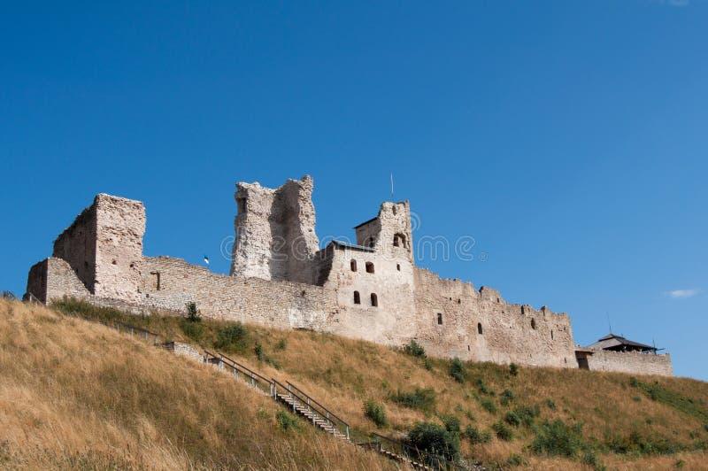 Fortaleza de Rakvere durante o dia foto de stock