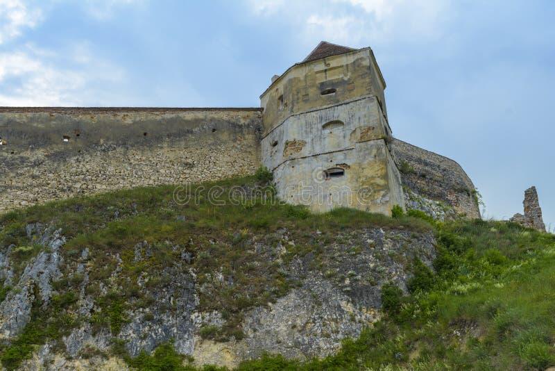 Fortaleza de Rasnov fotografia de stock royalty free