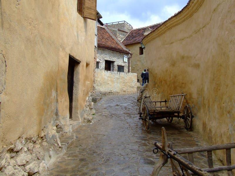 Fortaleza de Rasnov imagen de archivo libre de regalías