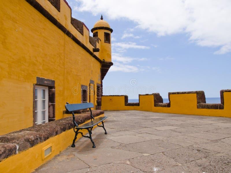 Fortaleza DE Sao Tiago in Funchal royalty-vrije stock fotografie