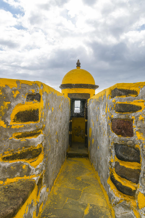 Fortaleza DE Sao Tiago in Funchal stock fotografie