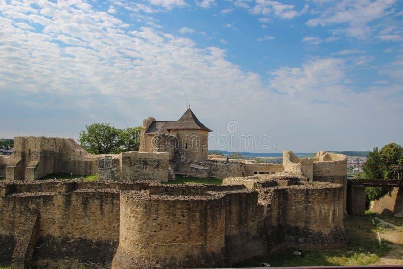 A fortaleza de Seat de Suceava fotos de stock royalty free