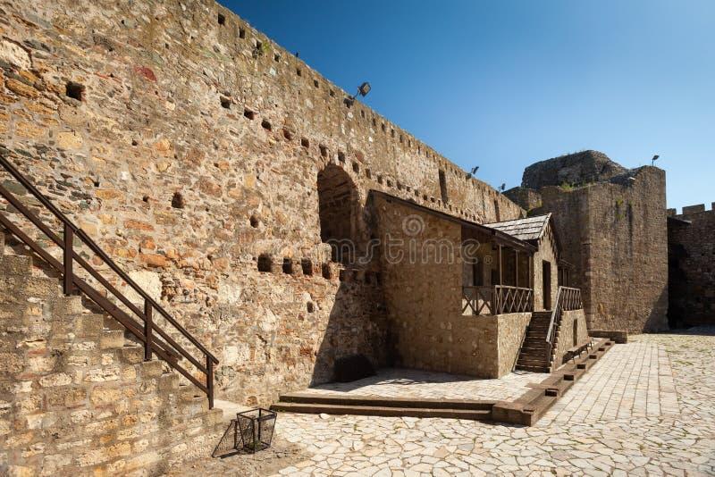 Fortaleza de Smederevo fotografia de stock
