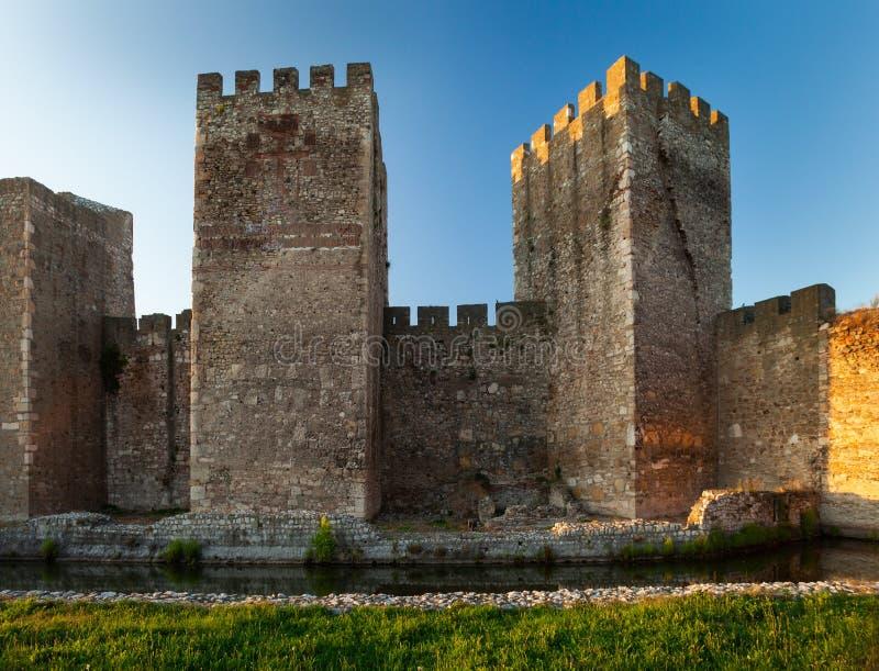 Fortaleza de Smederevo imagens de stock