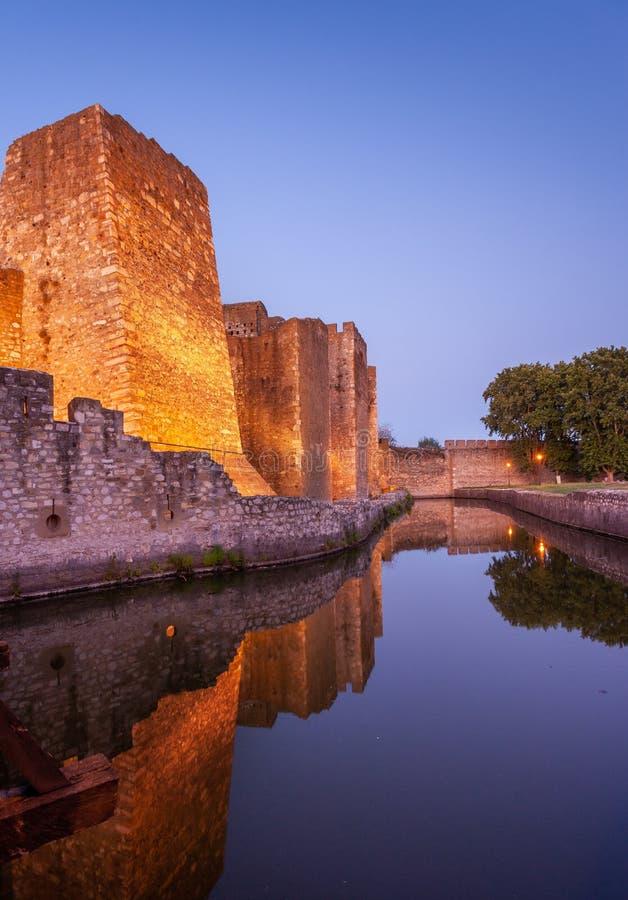 Fortaleza de Smederevo imagem de stock royalty free