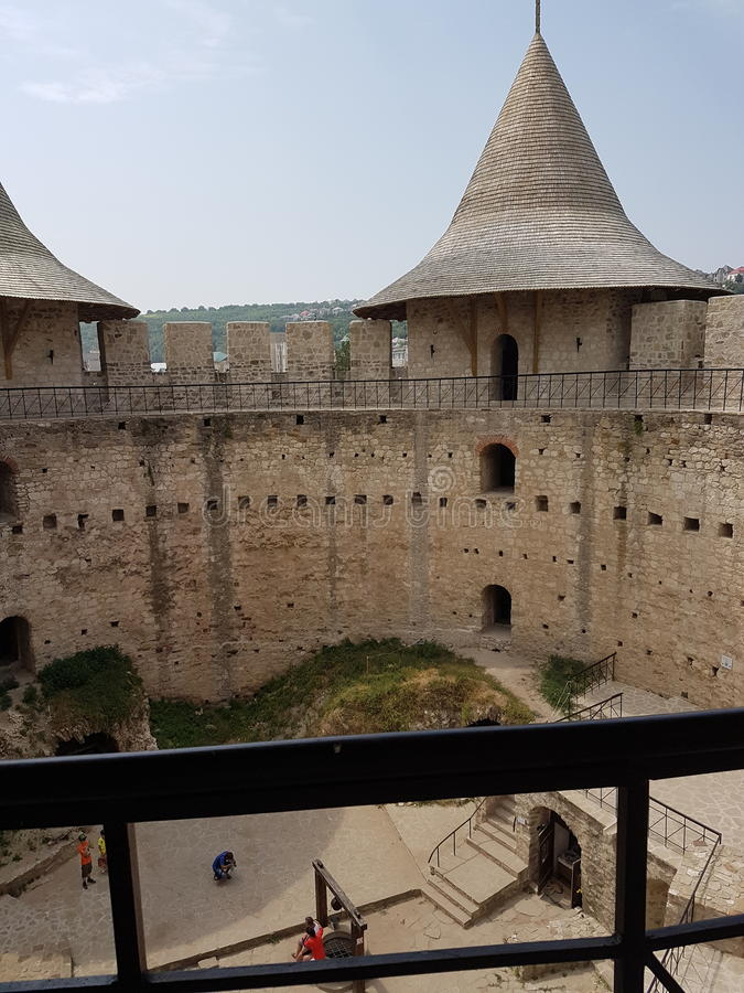 Fortaleza de Soroca fotos de archivo