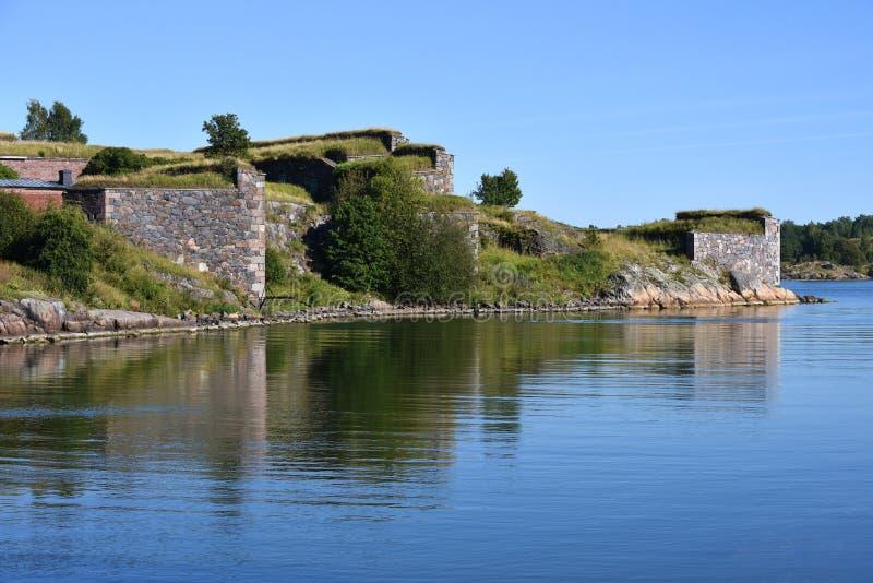 Fortaleza de Suomenlinna imagem de stock royalty free