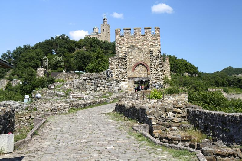 Fortaleza de Tsarevets imágenes de archivo libres de regalías