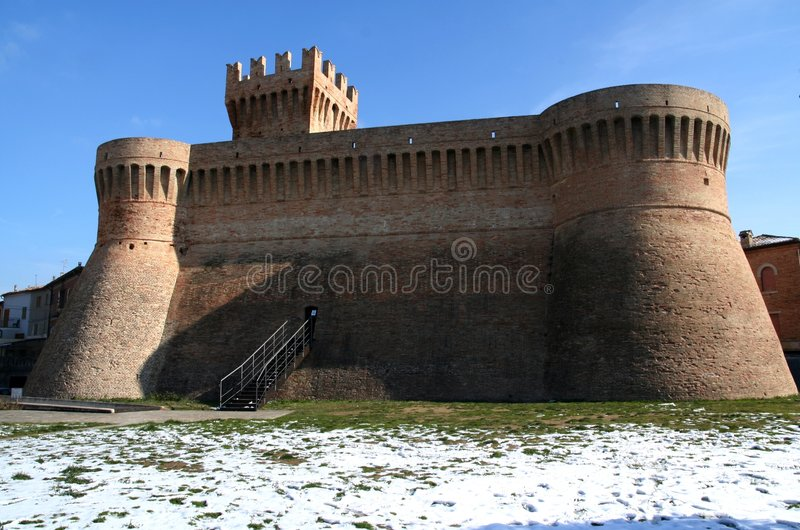 Fortaleza de Urbisaglia imagem de stock royalty free