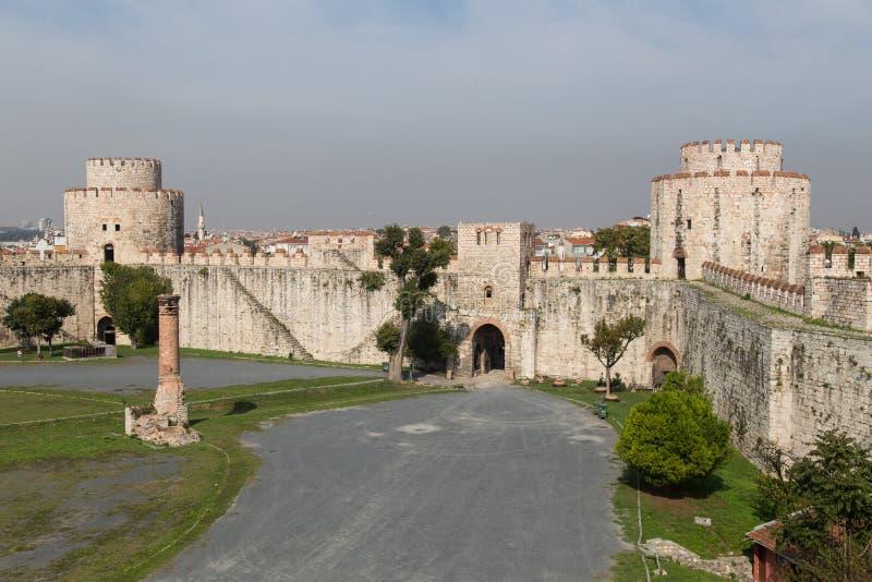 Fortaleza de Yedikule foto de stock