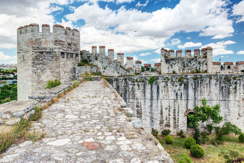 A fortaleza de Yedikule em Istambul, Turquia fotos de stock
