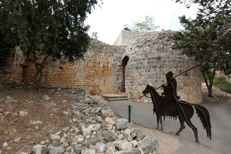 A fortaleza de Yeghiam é o castelo da era do cruzado fotos de stock