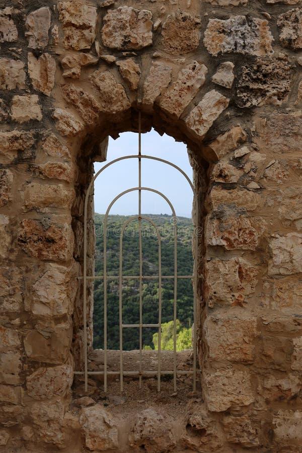 A fortaleza de Yeghiam é o castelo da era do cruzado fotografia de stock