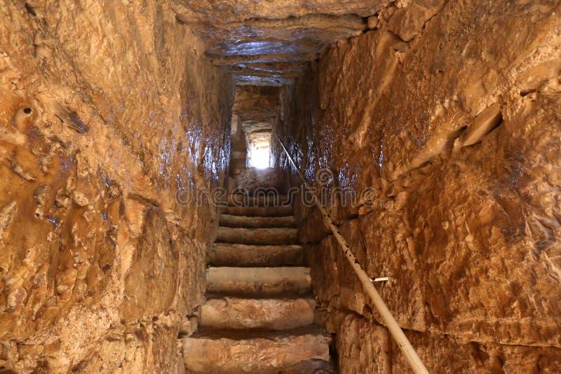 A fortaleza de Yeghiam é o castelo da era do cruzado imagens de stock