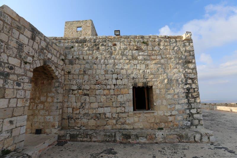 A fortaleza de Yeghiam é o castelo da era do cruzado imagem de stock royalty free