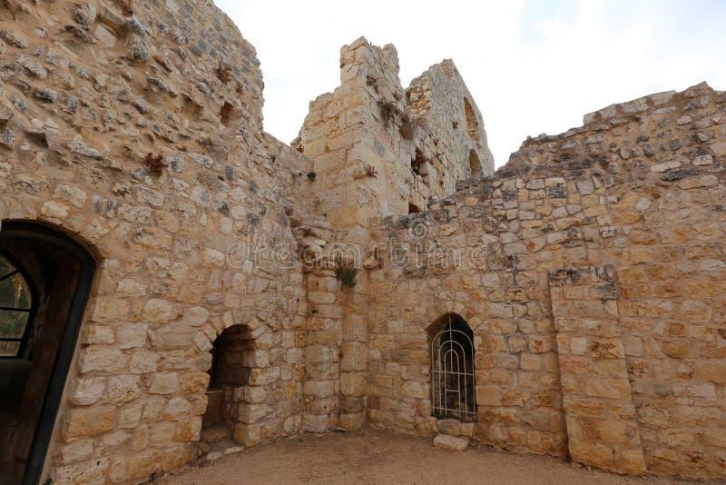 A fortaleza de Yeghiam é o castelo da era do cruzado imagem de stock