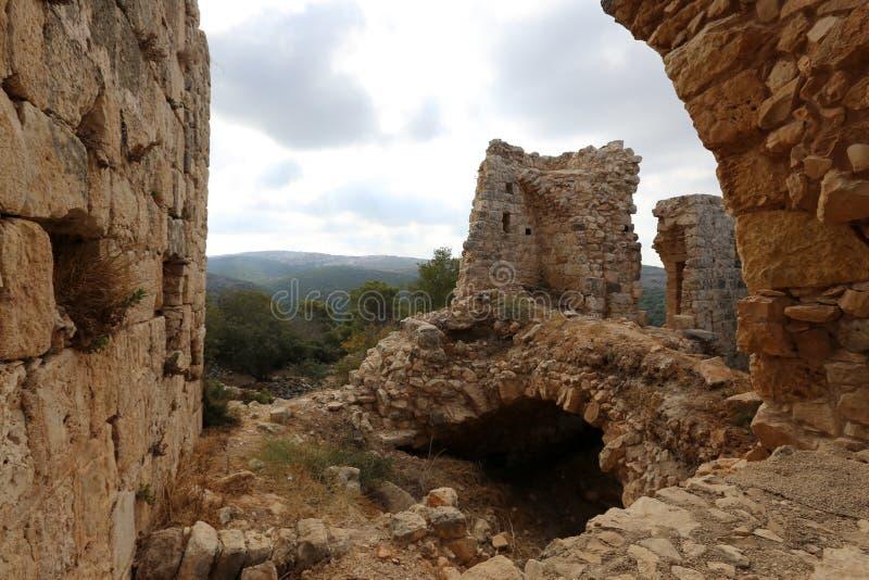 A fortaleza de Yeghiam é o castelo da era do cruzado foto de stock