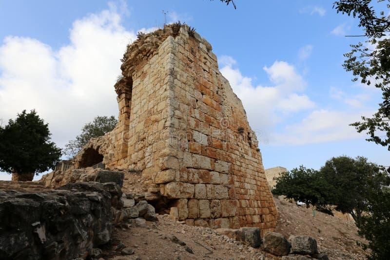 A fortaleza de Yeghiam é o castelo da era do cruzado fotos de stock royalty free
